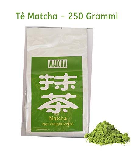 te verde matcha in polvere - guoji 250 grammi - un matcha ideale per la ristorazione e la pasticceria