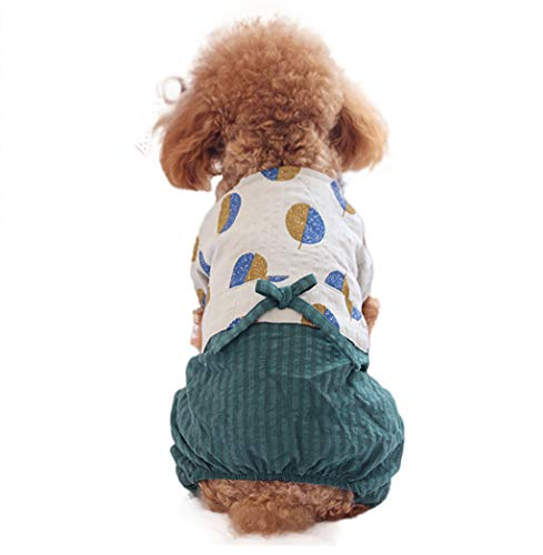 T.boys HundeKleid,Frühling Sommer Haustier Hund Shirt Rock Lady Hund Kleid Floral Rock Kleiner Hund Prinzessin Dress, Hund Kostüme Haustier Katzen Kleidung - Womens Lady Hunter 8