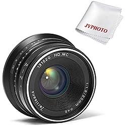 7artisans 25mm F1.8 objectif pour Sony Emount Caméras comme A7 A7ii A7R A7rii A7S A7sii A6500 A6300 A6000 a5100 A5000 EX-3 NEX-3