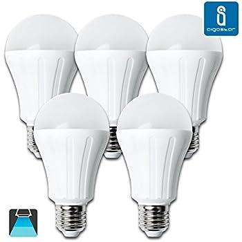 Aigostar – Bombilla LED A5 A65, 15 W, casquillo grande E27, luz natural