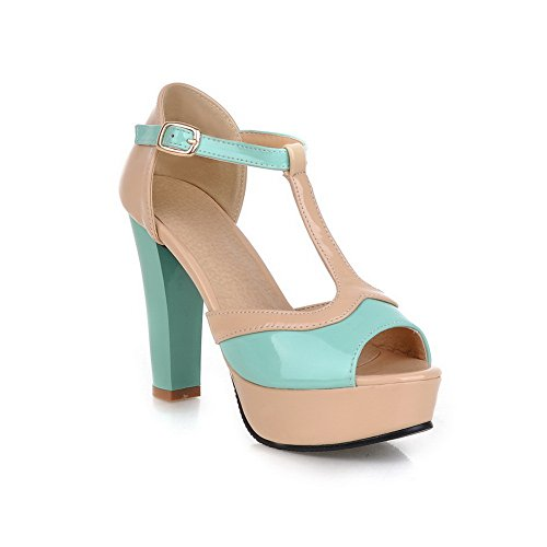 Adee , Damen Sandalen Blau