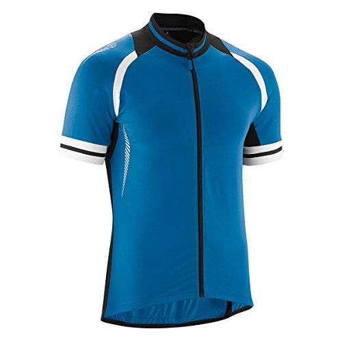 Gonso Übergrößen Rad-Trikot Dean blau-schwarz, XL Größe:2XL