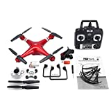 GreatWall SH5H 2.4G 1080P Caméra HD FPV Drone RC Quadcopter Altitude Hold Red