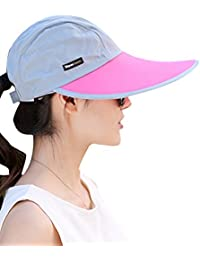Menschwear mujer Hats Summer Sun hats UV Protection Caps Beach Hats UV Protection Caps