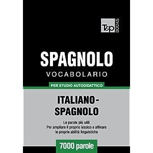 Vocabolario Italiano-Spagnolo per studio autodidat