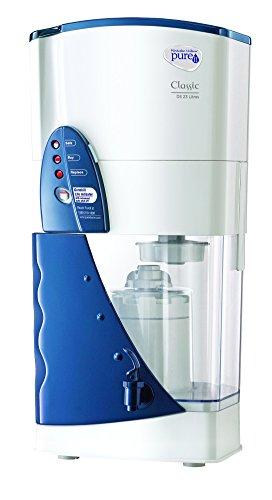 HUL Pureit WCDS100 Classic Double Storage 23-Litre Water Purifier (White/Blue)
