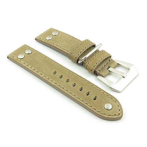 dassari-Liberty-Tan-Echtleder-Vintage-Style-Watch-Band-mit-Nieten-Gre-18-mm-1818