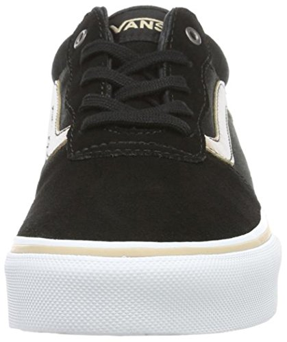 Vans Milton, Sneakers Basses Fille Or (Metallic Leather)