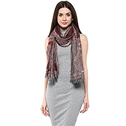 Shingora Womens Shawl (RAQ7JS9591W00J3818_Brown_One Size)
