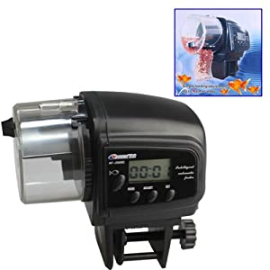 Aquarium Fish Auto Food Feeder Holiday Timer Dispenser Fish Food Dispenser by JOOX Ltd