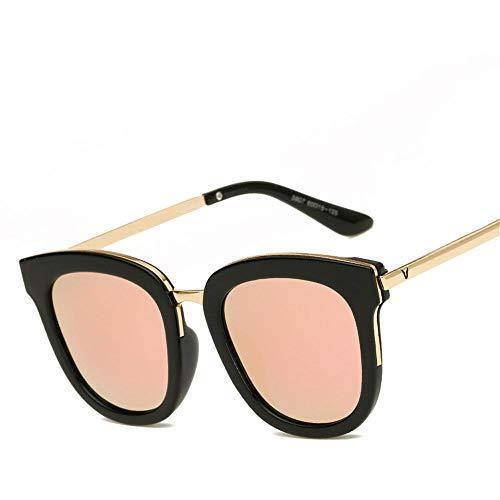 MJ Glasses Sonnenbrillen Polarisierter Männer- und Frauenfarbfilm Koreanische Version, C