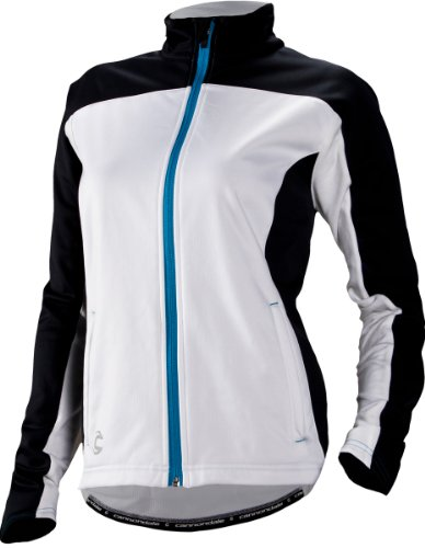 Cannondale Damen Performance Softshell Jacke, damen, weiß (Bike-cannondale Damen)