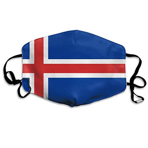 Masken, Masken für Erwachsene, Face Mask Reusable, Warm Windproof Mouth Mask, Iceland Flag.png Masks Dust Mask Anti Pollution Mask Can Be Washed Reusable Masks Cotton Mouth Mask for Men Women