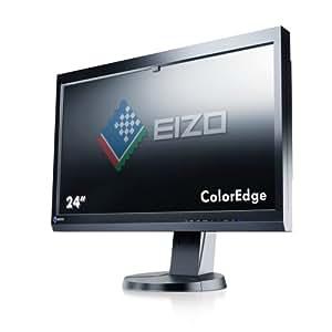 Eizo CX241-BK 61 cm (24 Zoll) Monitor (DVI, HDMI, USB, 8ms Reaktionszeit) schwarz