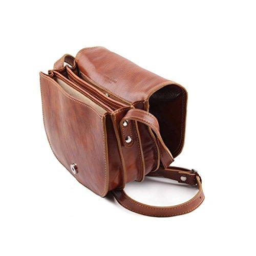 Tuscany Leather - Isabella - Sac bandoulière en cuir Noir - TL9031/2 Noir