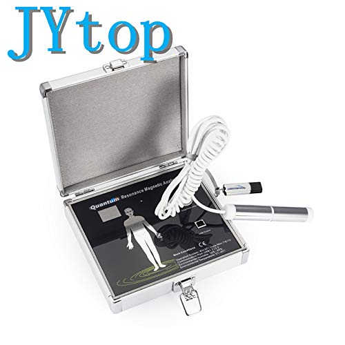 JYtop® 2019 New 3. Quantenresonanz-Magnetanalysator Mehrsprachig (Englisch + Deutsch + Spanisch) Quantum-flash-system