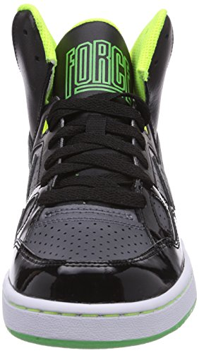 Nike Son Of Force (GS) Jungen Basketballschuhe Schwarz (Black/Dark Grey-Volt-Light Green Spark)
