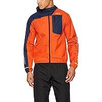 Gore Running Fusion Windstopper Active Shell Jacket Orange Black Iris