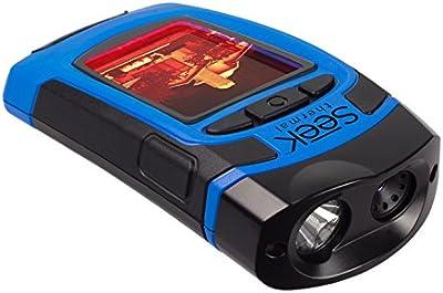 Seek thermal reveal cámara portátil de imagen térmica con linterna, colores negro y azul
