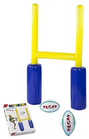 Dal negro 55656 - set rugby, gonfiabile