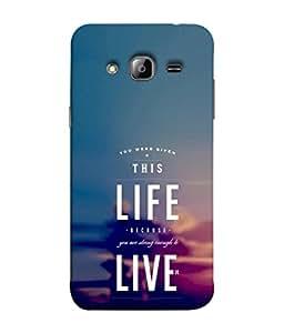 PrintVisa Motivational Wording 3D Hard Polycarbonate Designer Back Case Cover for Samsung Galaxy On7 Pro :: Samsung Galaxy On 7 Pro (2015)