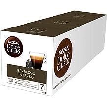 NESCAFÉ Dolce Gusto Café Espresso Intenso, Pack de 3 x 16 Cápsulas - Total: