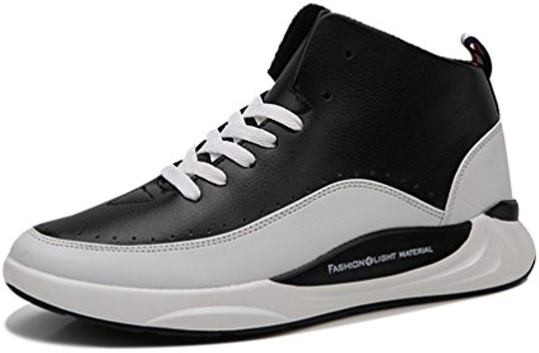 Herren Sportschuhe Leichte Geschlossene Gummiaußensohle Tragene Atmungsaktiv Freizeit Schnür Sneakers