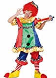 Fyasa 706352-t02payaso disfraz de niña, tamaño mediano, multicolor