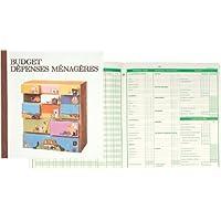 Exacompta - 78E - Piqure Budget des Dépenses Ménagères - 27/25-56 Pages