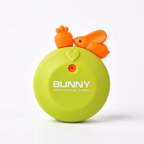 Küche 60 Minute Egg Timer (Besttimes Cute Animal Küchen Eieruhr, 60 Minuten Gewerbliche Boiled Egg Timer zum Kochen Übung Studieren)