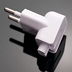 Indian Style/EU Plug Adapter Duck Head for Power Adapters of Apple Macbook,Powerbook, Pro, Air, iPod, iPhone, iPad, iBook