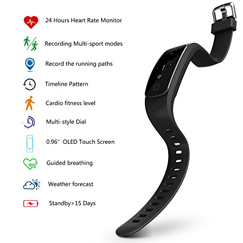 runme fitness tracker watch with heart rate monitor ip67 water rh bronowicenowe pl manuale sport tracker Trabajos Manuales Gratis