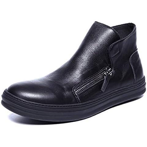 moda stivali in Inghilterra/ pelle stivali Martin in autunno/ uomo Stivali/Stivali lato cerniera piede/ marea stivali