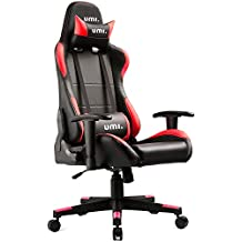 UMI. Essentials Gaming Chair Office Chair High-Back Racing Chair Ergonomic Design Swivel Chair With Headrest and Lumbar Support