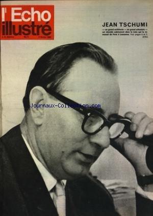 ECHO ILLUSTRE SUISSE (L') [No 5] du 03/02/1962