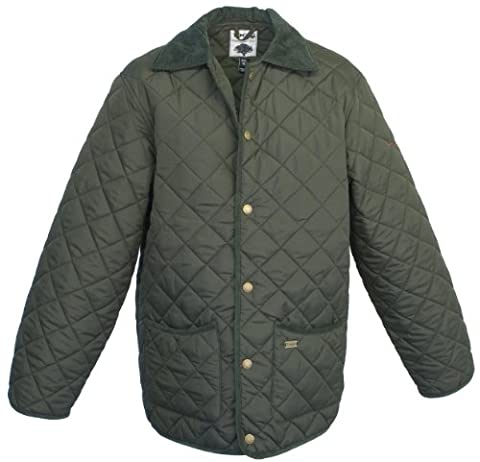 Toggi Men's Kendal Quilted Jacket - Olive, XX-Large
