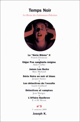 Revue temps noir, numéro 3 par Anonyme