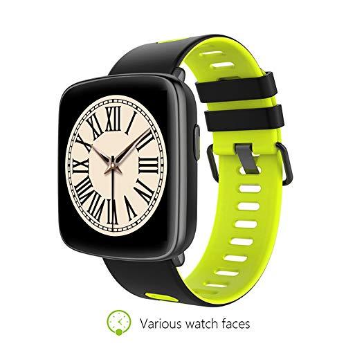 YOZOOE GV68 Smart Watch, wasserdichter Bluetooth Smart Watch-Pulsmesser für Schwimmer Fitness Tracker, Sport & Outdoor (Farbe : Green) (Fitness-tracker Schwimmer)