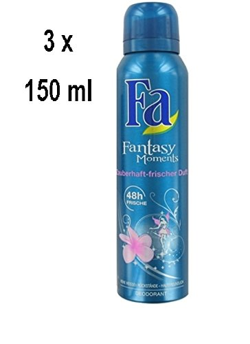 "3 x FA Women Deospray ""Fantasy Moments\"" - 150 ml"