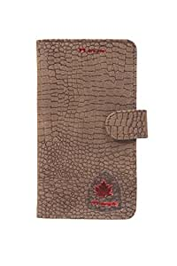 99 Maple pu leather pouch for Gionee Pioneer P6