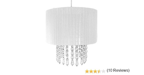 Lampadario Di Carta Velina : Beamfeature lampadario luce della decorazione bianco: amazon.it