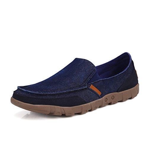 Confortevole e traspirante in estate scarpe/Sneakers casual/Scarpe uomo guida del piede Blu