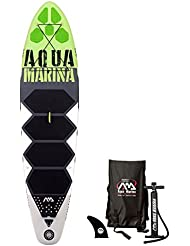 Aqua Marina THRIVE Sup Inflatable Stand Up Paddle Surf Board Remo Board, Board