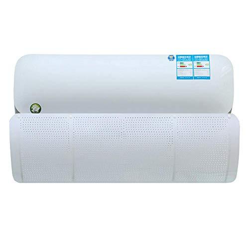 Hamkaw, deflettore universale per condizionatore d'aria a parete, deflettore poroso, anti soffiamento diretto e deviatore d'aria bianco