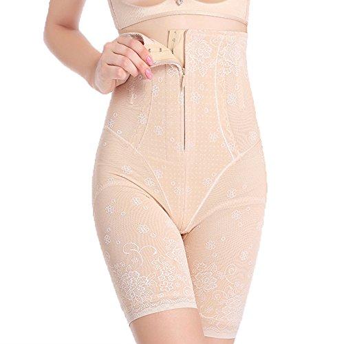 Lover-Beauty Shapewear Damen Body Miederhose Bauch Weg Bodysuit mit Haken Taillenformer...