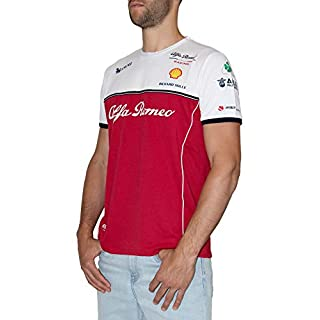 Alfa Romeo Racing Sauber Motorsport Herren Team T-Shirt red, L