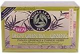El té verde descafeinado con ginseng, 20 bolsitas de té 1,4 oz (40 g) Cada - Tea Leaf Triple