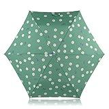 RADLEY 'a pois CANE' telescopico ombrello verde
