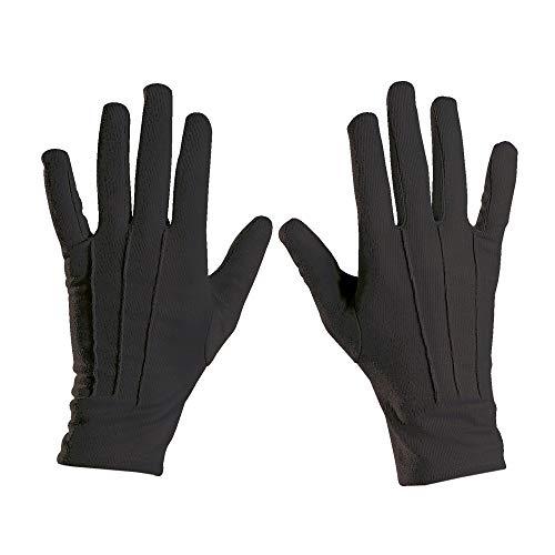 Widmann 4635E Handschuhe, Mehrfarbig (Schwarze Handschuhe Kostüm)