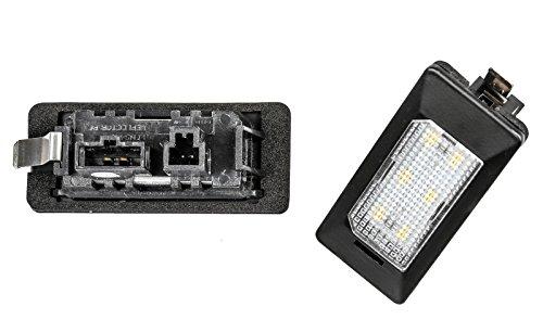 Preisvergleich Produktbild 2x LED SMD Kennzeichenbeleuchtung TÜV FREI